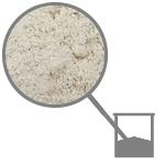 Corroborante: polvere di roccia (100% caolino)